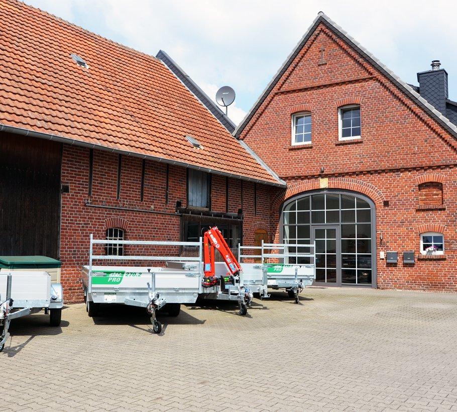 WEKO Maschinen- und Anhängerbau - Außenansicht